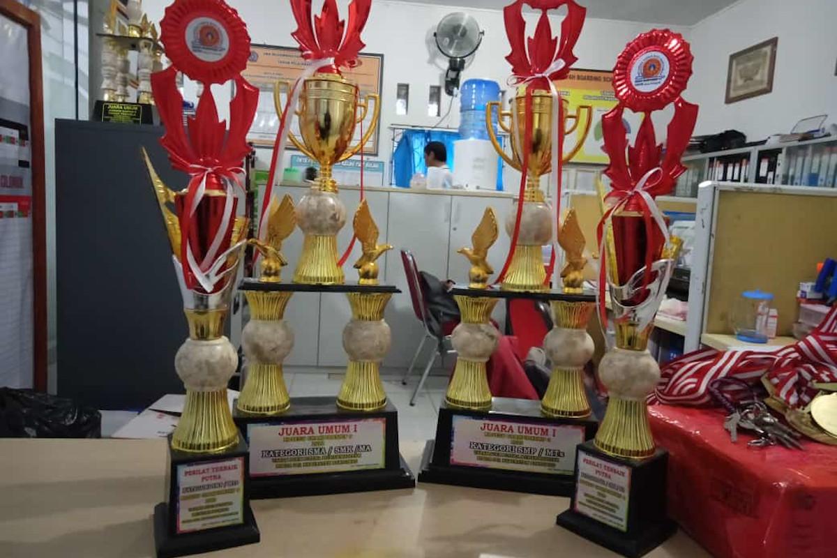 Juara Umum Kejurda KOSEGU Championship 9 Tahun  2020